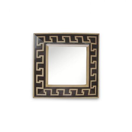 Chinoiserie Chic: Greek Key Mirror