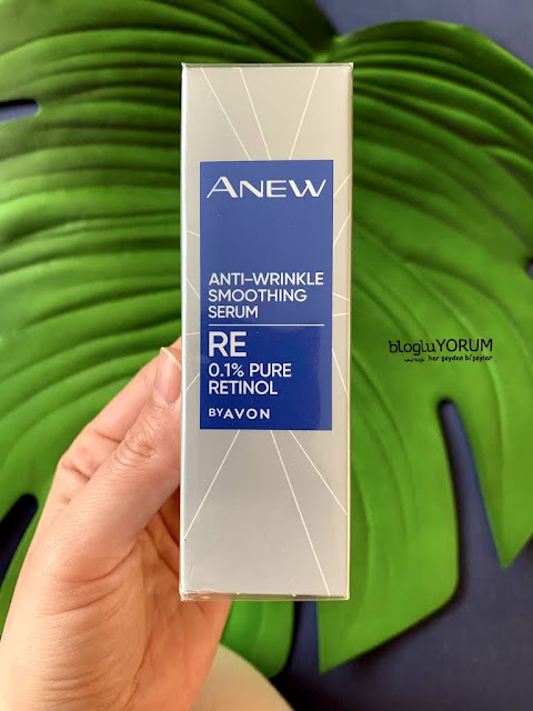 avon anew RE anti wrinkle retinol serum