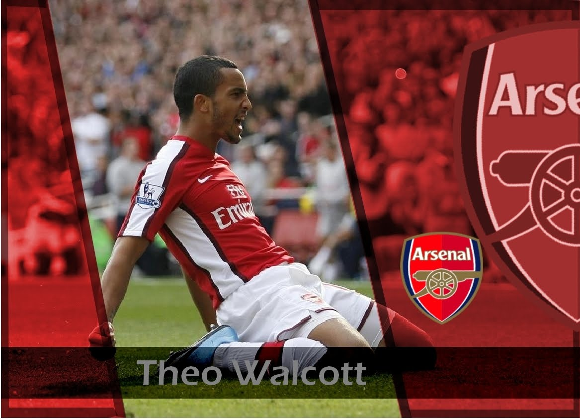 All Football Players: Theo Walcott Hd Wallpapers 2012
