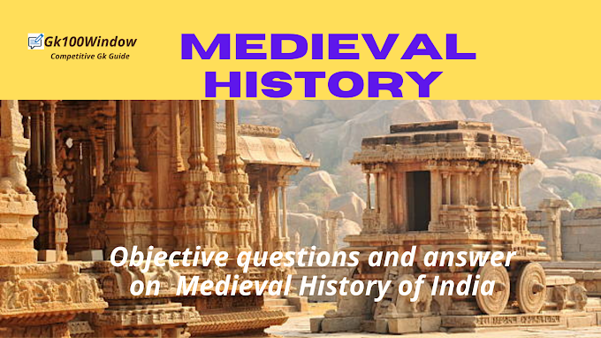 Medieval history MCQ for WBCS prelim exam: General Awareness on Medieval History of India.