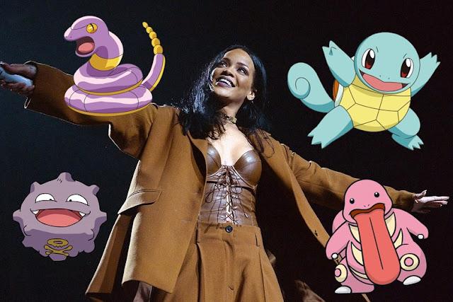 Rihanna está en contra de Pokémon Go