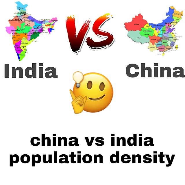 China vs India population density. India will soon overtake China to become most populous country. Let's know with Fact Zone blogspot blog.