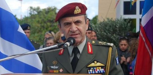 Στρατηγός Ταμουριδης: Ούτε σπιθαμή Ελλάδος δεν χαρίζουμε σε κανέναν
