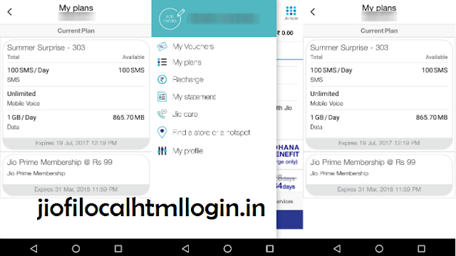 My Jio app on your android device