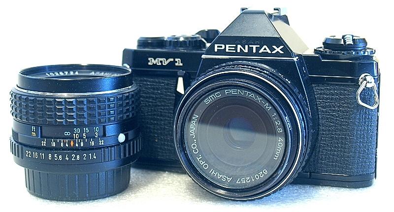 Pentax MV1, SMC Pentax 50mm F1.4, SMC Pentax-M $0mm F2.8