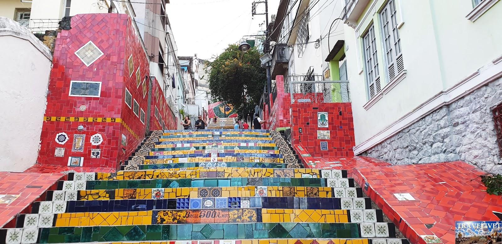 Brésil Rio de Janeiro  Escadaria Selaron