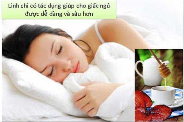 Tạo giấc ngủ ngon nhờ món ăn từ nấm linh chi