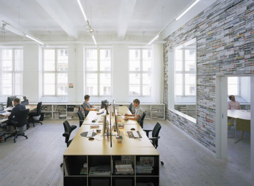 graphic design office space