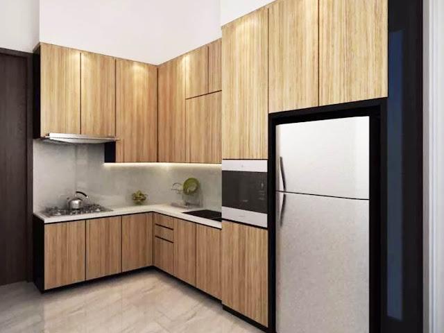 kitchen set hpl kayu jati
