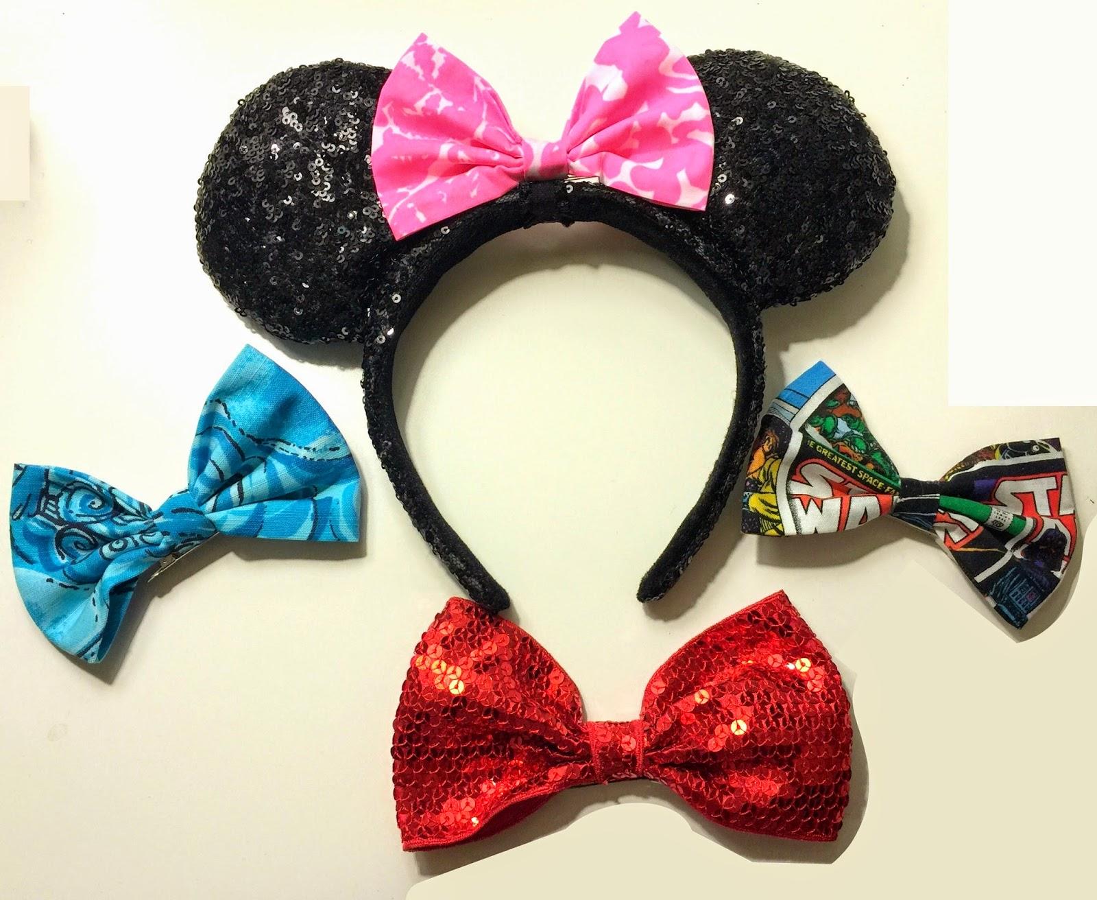 A Little Bolt Of Life Minnie S Bow Headband