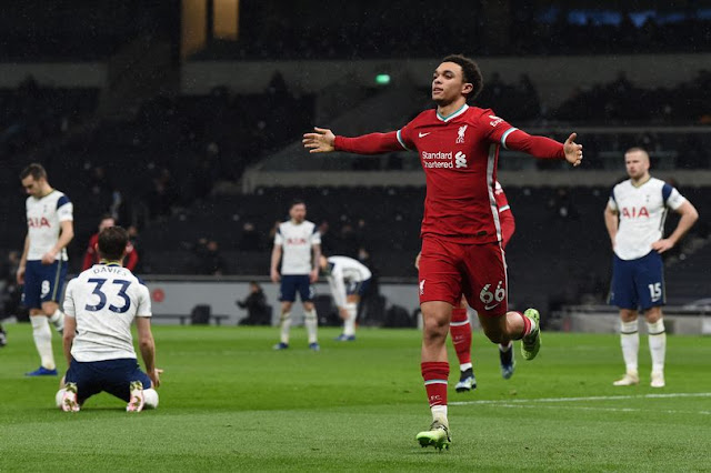 Trent Alexander-Arnold was back at his absolute best vs Tottenham with a brilliantly taken goal and assist.