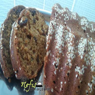 Şekersiz Pekmezli Baton Kek Nasıl Yapılır