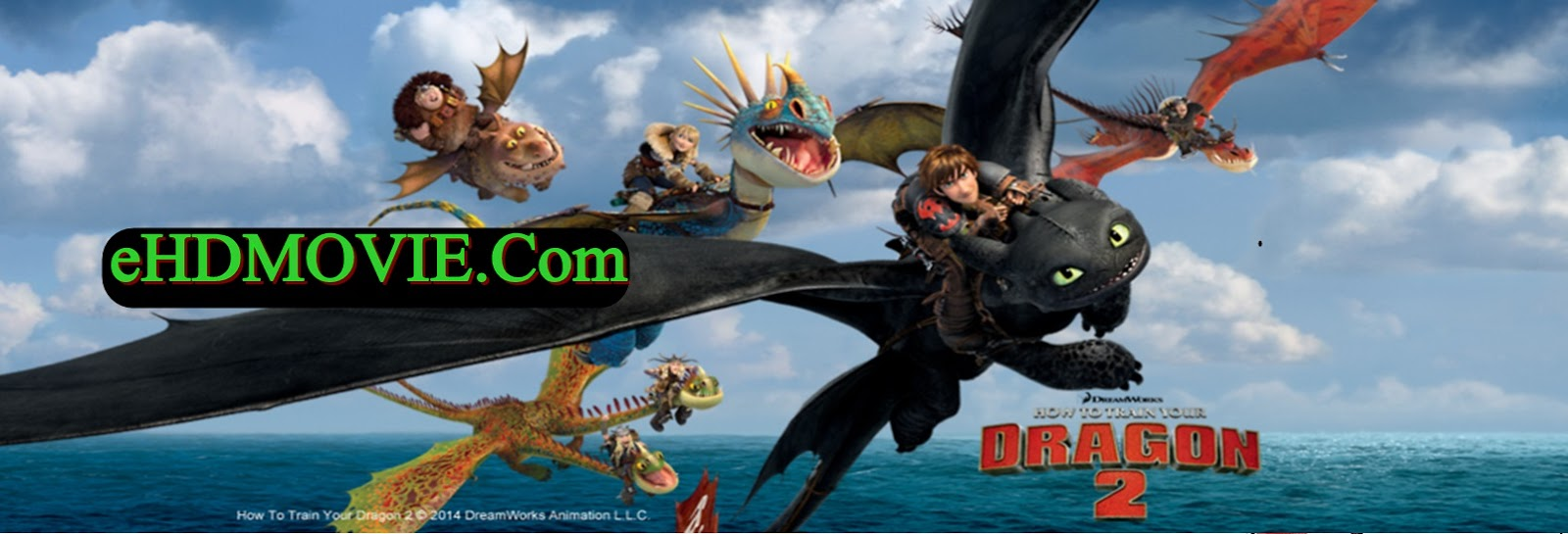 How To Train Your Dragon 2 2014 Full Movie Dual Audio [Hindi – English] 720p - HEVC - 480p ORG BRRip 350MB - 450MB - 950MB ESubs Free Download