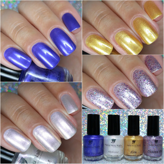 Hana Hou Nails | Swatches & Review