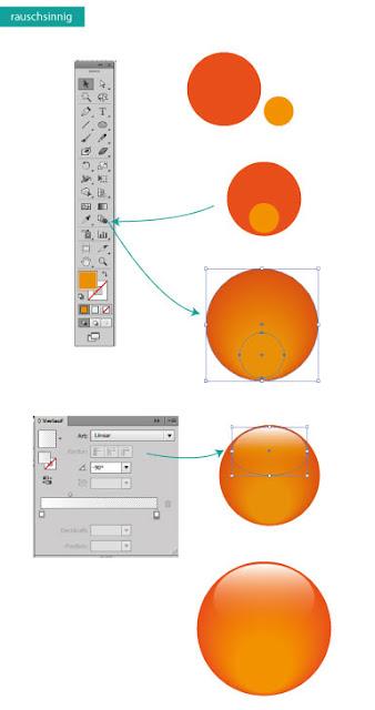 Lichteffekte erstellen in Adobe Illustrator