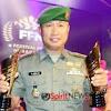 Kapendam Hasanuddin,Menerima Dua Tropy di Festival Film Nusantara