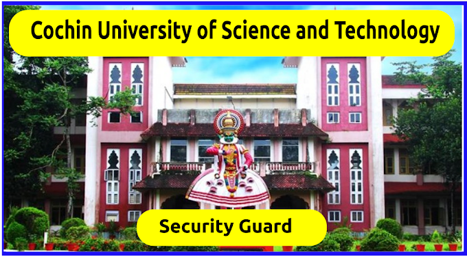 Cochin University of Science and Technology Job Notification