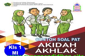 Contoh Soal PAT/UKK Akidah Akhlak Kelas 1 SD/MI Sesuai KMA 183