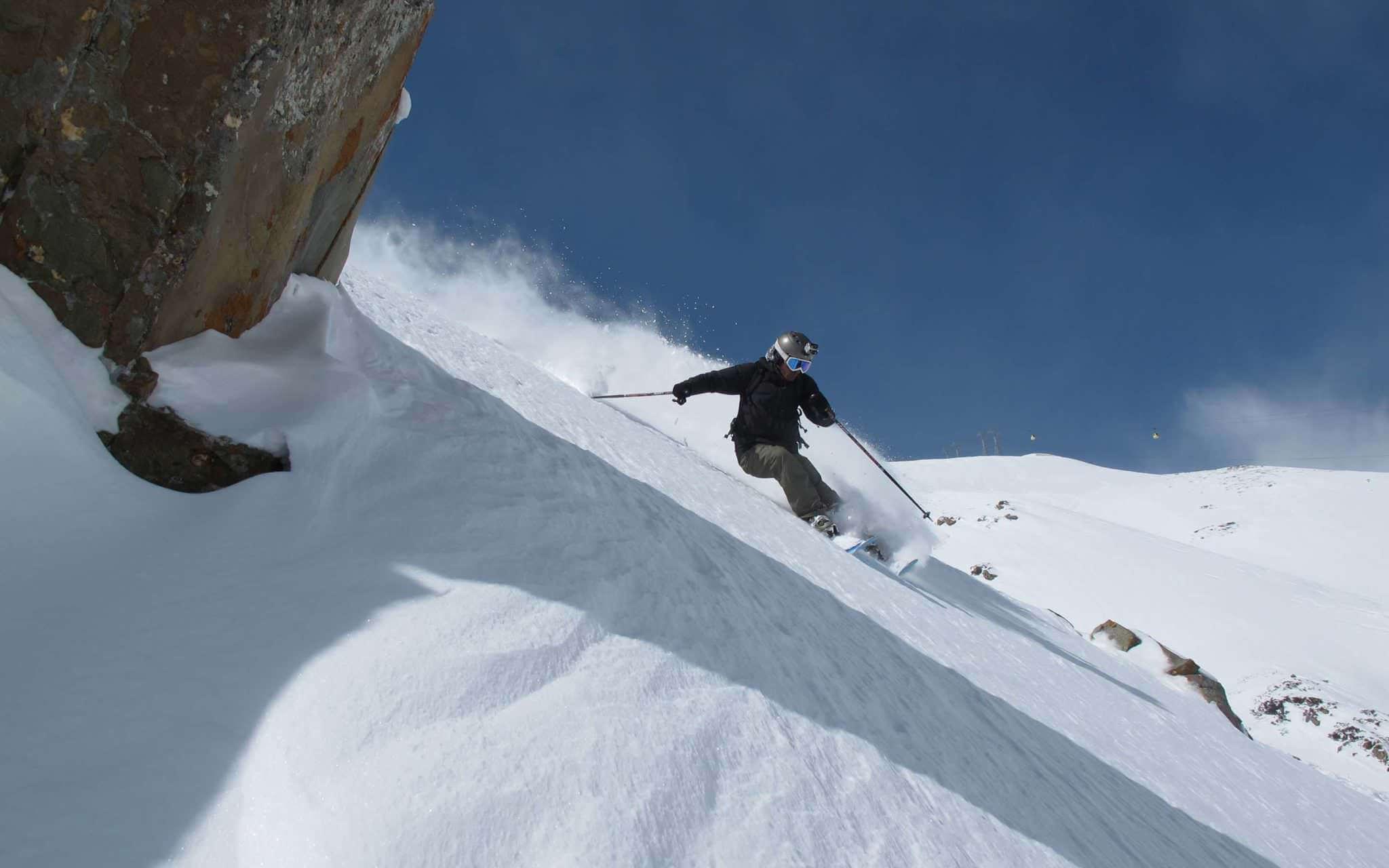 Катание на лыжах в Гималаях