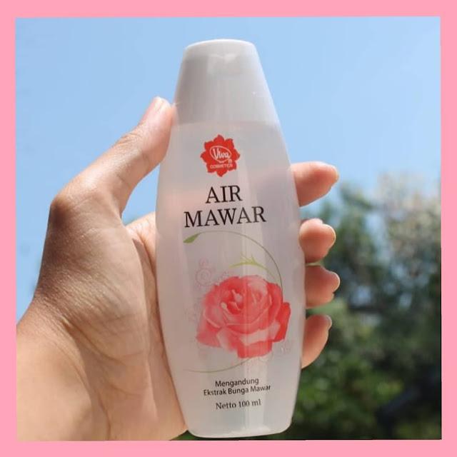 Cara menggunakan air mawar viva untuk menjadikan kulit wajah lebih glowing