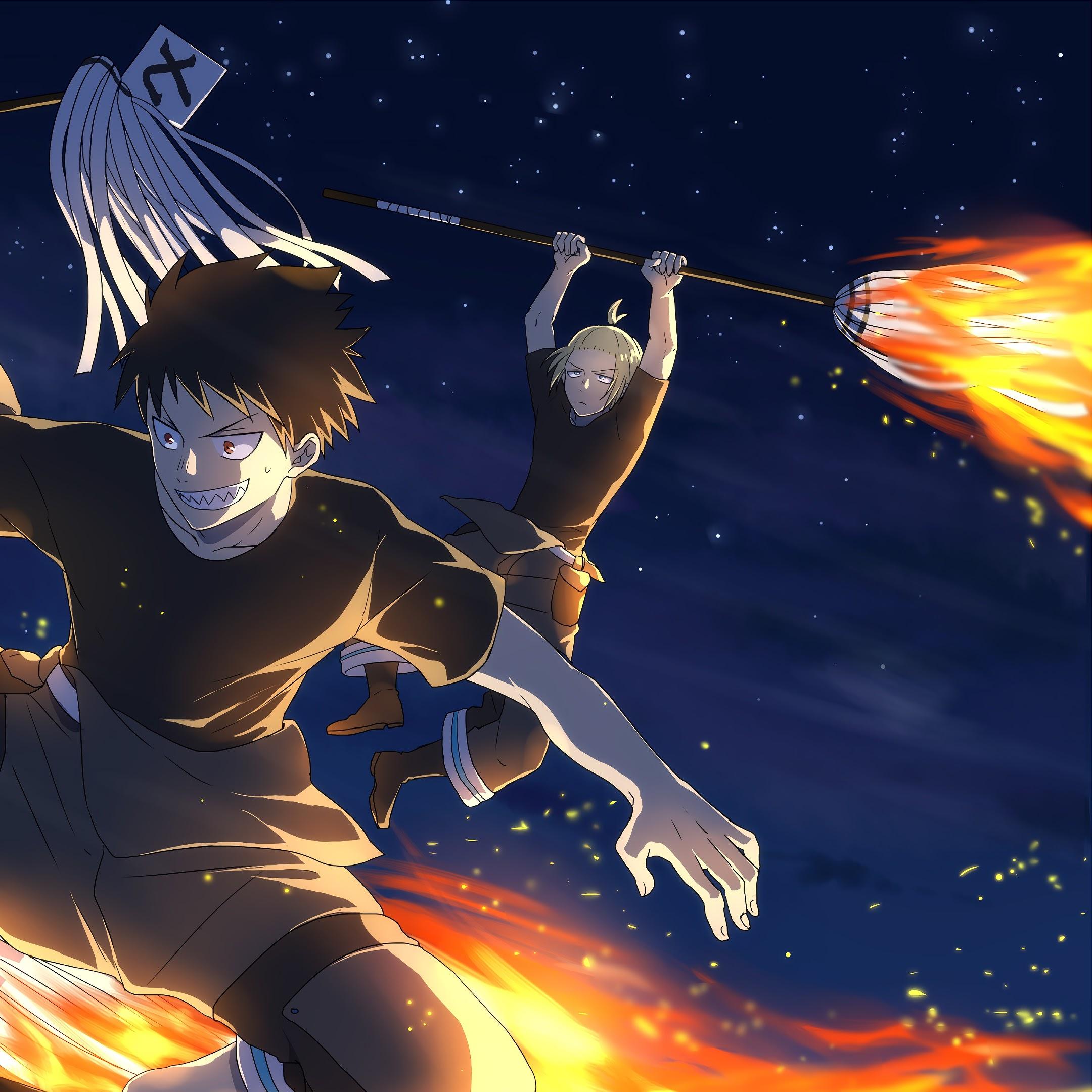 Fire Force Shinra Benimaru Arthur 4k 25 Wallpaper