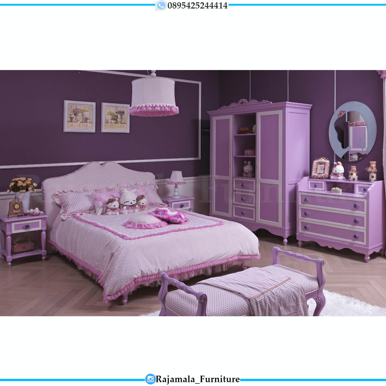 Kamar Set Anak Terbaru Minimalis Modern Design Luxury RM-0437