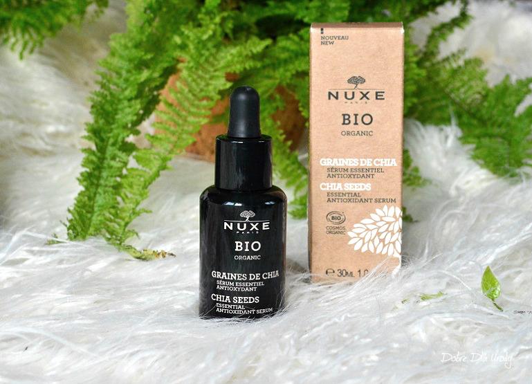 Nuxe Bio serum antyoksydacyjne Nasiona Chia