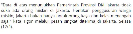 Wuihh Mantap Ternyata Sudah 60 Ribu Warga Miskin Jakarta Berhasil Di Gusur Sejak Tahun 2013 - Naon Wae News