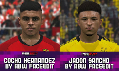 PES 2017 Facepack December 2019 Vol 2 by ABW_FaceEdit
