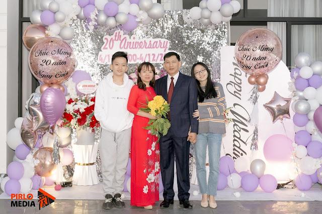 CHụp sinh nhật 4 người ở Hạ Long