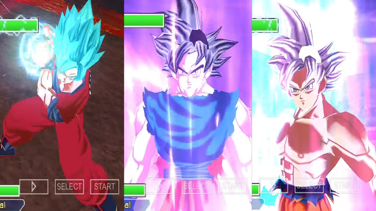 HD Goku Mastered Ultra Instinct 3D