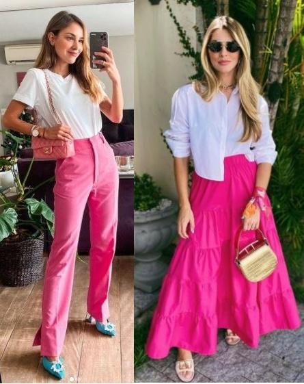 Guia Como usar rosa e ficar estilosa, Luisa Accorsi, Nat Mosca