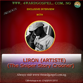 """INTERVIEW WITH  LIRON: Checkout what Liron has to say about his latest hit  """"THE SNIPER STORY"""""""