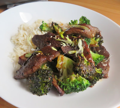 Sheet Pan Beef & Broccoli