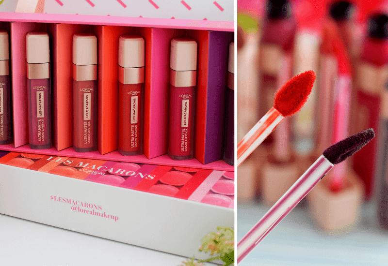 Haltbarkeit  L´Oréal Paris Ultra Matte Les Macarons Lippenstifte