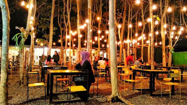 Cafe Camilo Colours & Garden Malang