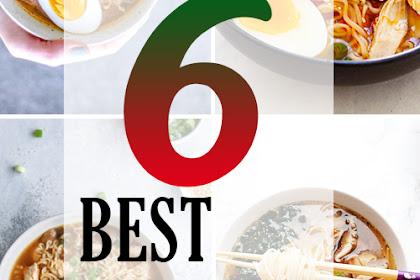 6 BEST RAMEN RECIPE HEALTHY
