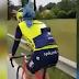 Vídeo de Antonio Nibali entrenando junto a Frankie la mascota de Michele Scarponi