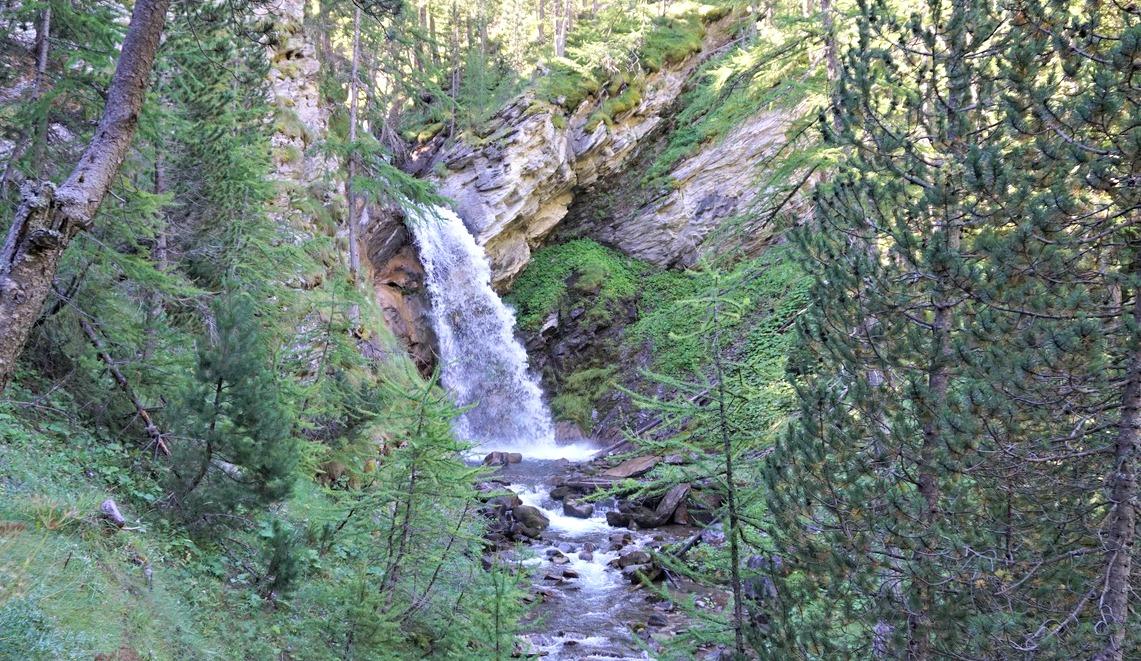 Cascade de Chadoulin Allos
