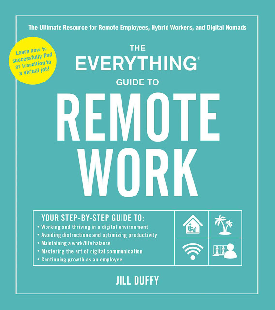 The Everything Guide to Remote Work by Jill Duffy - book cover