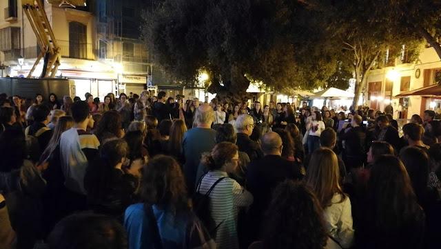 Cientos de manifestantes aúnan su voz contra la sentencia de Manresa en ciudades de todo el Estado