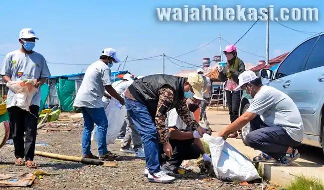 World Cleandup Day; PT. PJB Muara Tawar Usung Bekasi Berani untuk Indonesia Bersih