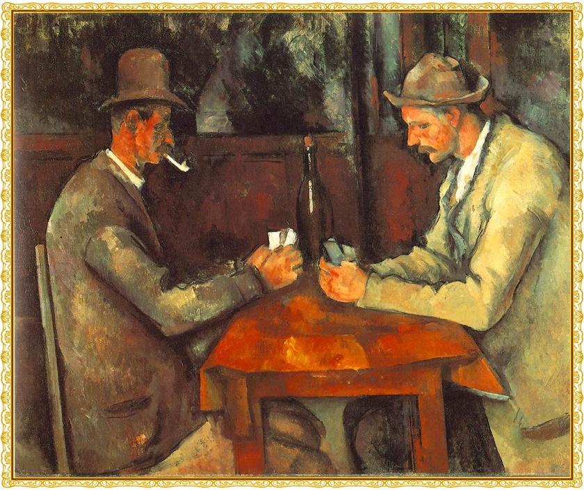 """ART & LIFE: Un Paseo por el arte """"Los jugadores de cartas"""""""