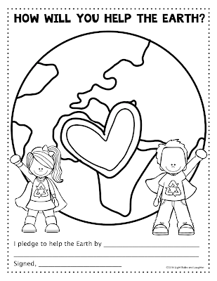 How will you help the Earth? - Light Bulbs and Laughter blog