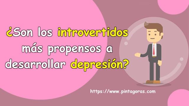 ¿Son los introvertidos más propensos a desarrollar depresión?