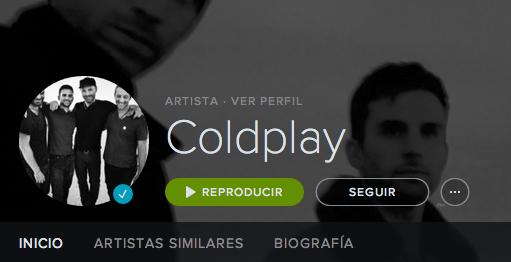 Spotify perfil