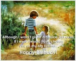 Birthday Wishes Of Brother