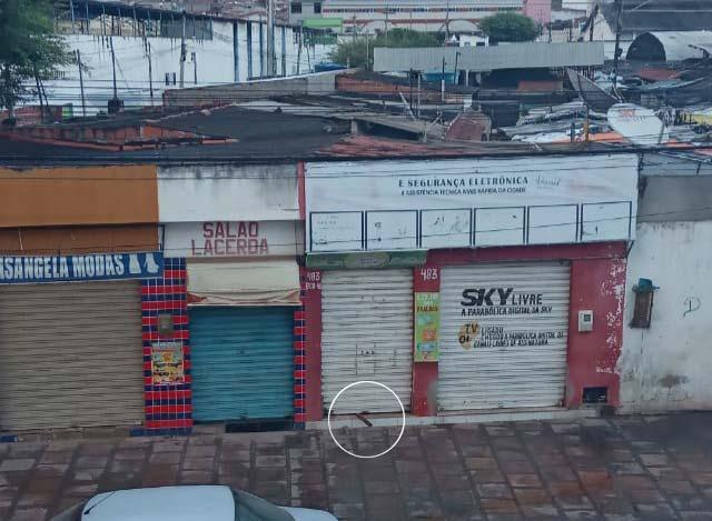 Tentativa de arrombamento a loja no Centro de Abastecimento de Jacobina