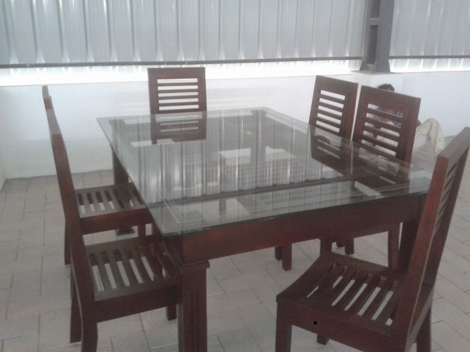 Wooden Chair Design Dining With Refrigerator Kerala Style Carpenter Works And Designs Attractive