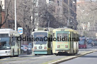 Tram a Roma: Linee chiuse e mezzi fermi